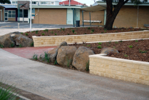 Sleeper Retaining Wall